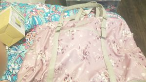 Floral with leather diaper bag for Sale in La Vergne, TN