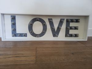 Love light up sign for Sale in Altadena, CA