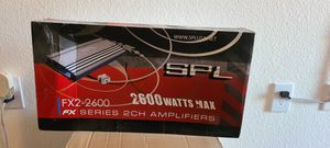 SPL FX2-2600 2 CH AMPLIFIER WITH BASS CONTROL for Sale in Corona, CA