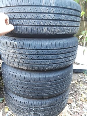 Toyota 215 60 R16 Wheels tires and hubcaps $300 for Sale in Tacoma, WA
