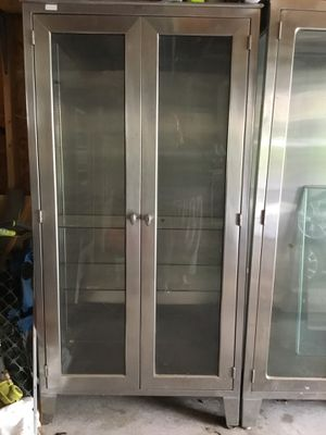 stainless steel medical cabinets for Sale in Martinsburg, WV