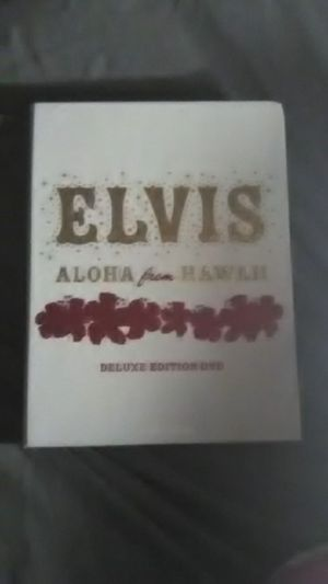 ELVIS aloha from Hawaii deluxe edition dvd for Sale in Columbus, OH