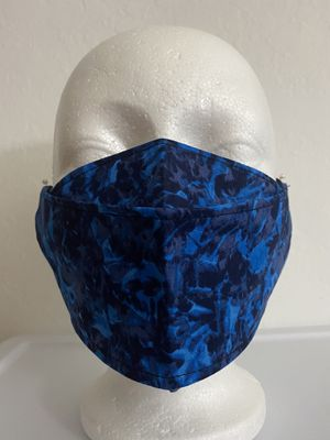 3D Face Mask Adults ( Blue)-C33 for Sale in San Diego, CA