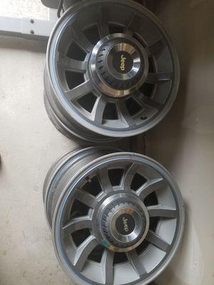 Jeep turbine wheels for Sale in Bonney Lake, WA