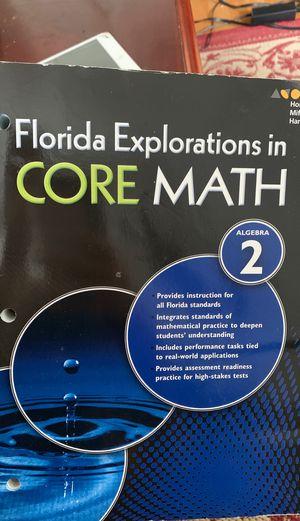 Florida Explorations in Core Math Algebra 2 for Sale in Orlando, FL
