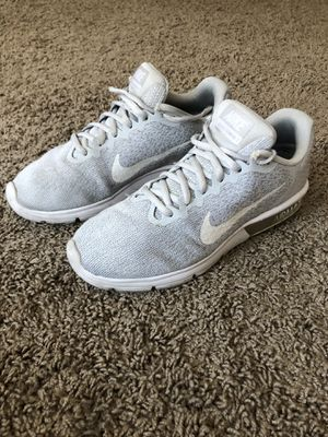 Nike Air Max Sequent 2 - White Mens US 7 for Sale in West Los Angeles, CA