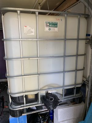 Water storage container for Sale in Chesapeake, VA