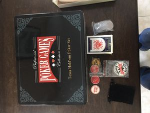 Brand New poker set for Sale in New Britain, CT
