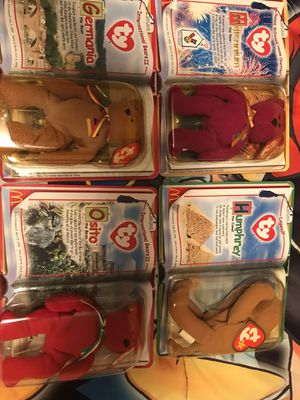 TY tiny beanie babies from McDonald's (OBO) for Sale in Winter Haven, FL