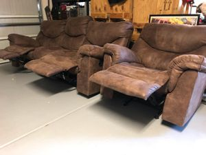 Brown couch for Sale in Queen Creek, AZ