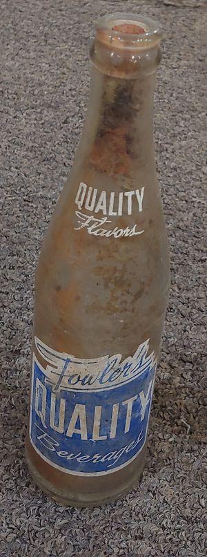 Antique Qualitu Flavors Bottle for Sale in Burlington, NC