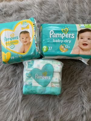 Diapers and wipes for Sale in Terrytown, LA
