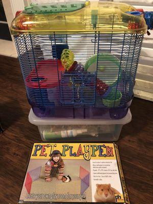 Hamster habitat and accessories for Sale in Greensboro, NC