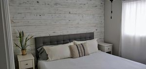 King Size Upholstered Headboard for Sale in Tacoma, WA