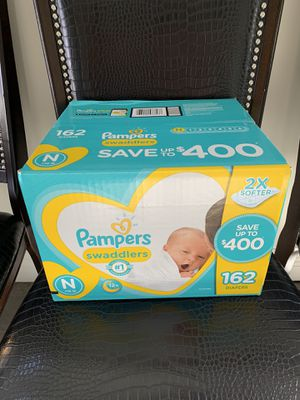 Pampers Swaddlers diapers (unopened box) for Sale in Temple City, CA