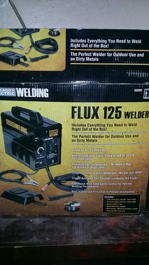 Chicago Electric : Flex 125 Welder for Sale in North Las Vegas, NV