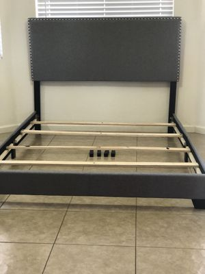 NEW NAILED QUEEN BED FRAME $160 obo for Sale in Phoenix, AZ