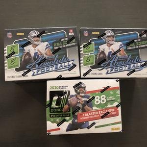 2020 Football Absolute Blaster Boxes Kaboom for Sale in Mesa, AZ