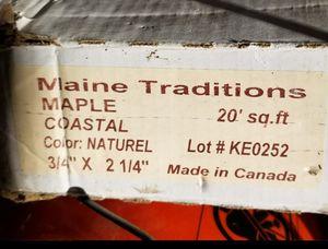 Coastal maple hardwood flooring for Sale in Newport, ME