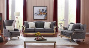 3 pcs sofa love seat take it home with$39 down for Sale in Dallas, TX