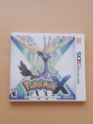 Pokemon X for 3ds for Sale in Phoenix, AZ