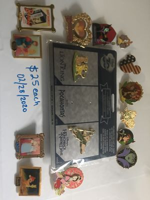 Disney pins for Sale in Pinole, CA