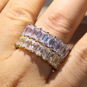 Unisex 925 Sterling Silver and 18K Gold plated Matching Ring Set- Prince Cut-Code F008L for Sale in Dallas, TX