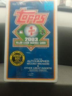 Sealed Bonus Box 1st Series Topps Baseball Cards for Sale in Portland,  OR