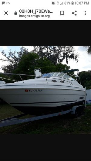 Wellcraft 240se 25.5ft for Sale in Tampa, FL