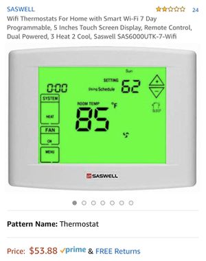 Saswell Wifi Thermostats For Home for Sale in Lorain, OH