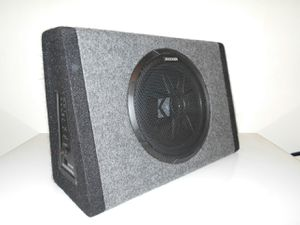 """New Kicker PT250 10"""" Subwoofer With Built-In 100w Amplifier for Sale in Portland, OR"""