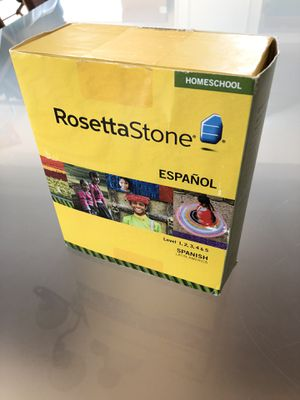 Rosetta Stone - Spanish levels 1-5 homeschool edition for Sale in Snohomish, WA