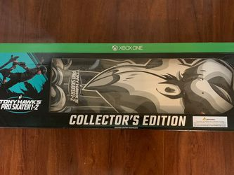 Tony Hawk's Pro Skater 1 And 2 Collectors Edition Xbox One for Sale in Tigard,  OR