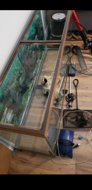 55 gallon fish tank for Sale in Bothell, WA