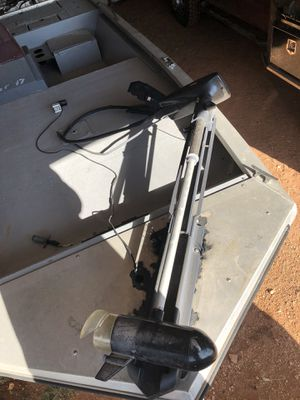 28 lbs thrust, foot pedal, old just don't need anymore for Sale in Abilene, TX