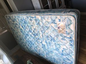 Full size Mattress, Box spring & frame for Sale in Rolling Meadows, IL