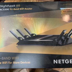 Netgear Nighthawk X6 AC3200 Tri-band Wifi Router for Sale in Chula Vista, CA