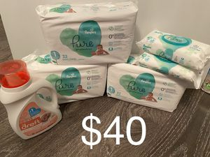 Pampers Pure size 1 Bundle for Sale in Lawrenceville, GA