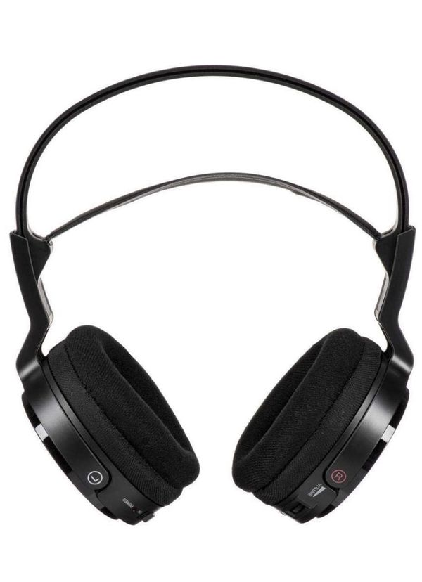RB- Sony MDR OverEar Wireless Radio Frequency Stereo TV Headphone System with 40mm Drivers, Noise Reduction