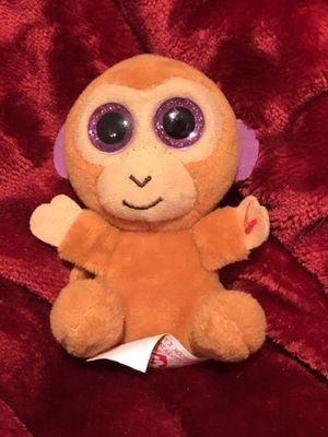 Bongo Beanie Boo Mc Donald's Happy Meal Ty plush plushie doll stuffed animal toy sale! Free gift with purchase ! Monkey by Ty for Sale in Phoenix, AZ