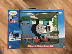 Thomas & Friends Tidmouth Station Travel Set for Sale in Raleigh, NC