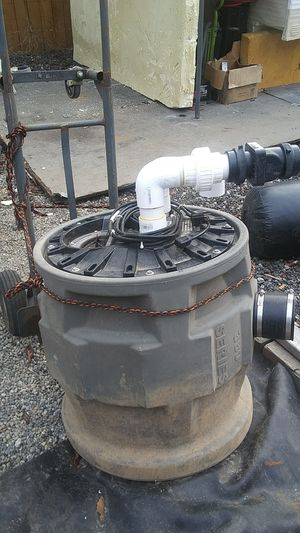 Pump & septic holding tank for Sale in Federal Way, WA
