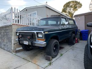 Ford bronco for Sale in Spring Valley, CA