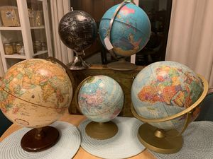 World Globes $15-$35 each for Sale in Gresham, OR