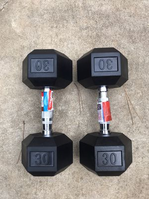 Dumbells 30# each for Sale in Durham, NC