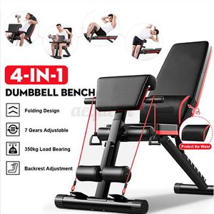 * 4 in 1 Multifunctional Dumbbell Bench with 7 level adjusting for Sale in San Leandro, CA