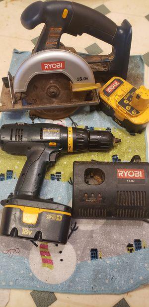Ryobi 18 v for Sale in Greer, SC