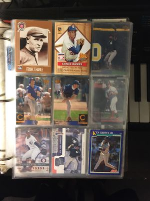 1000 baseball cards From all different years some are singed. for Sale in Barrington, IL