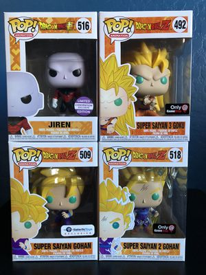 Funko Pop Dragonball Z(selling as a set only) for Sale in Phoenix, AZ