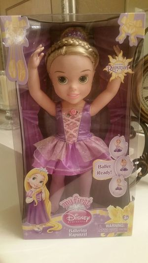 New My First Disney Princess Ballerina Rapunzel CHECK OUT MY OTHER OFFERS! Pick-up Location is 107TH Lower Buckeye for Sale in Tolleson, AZ